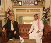 الملحق الثقافي السعودي يبحث سبل التعاون مع جامعة القاهرة