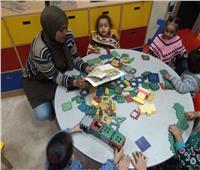 صور| ورش ومسابقات للأطفال بثقافة القاهرة