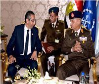 بالصور.. الفريق أول محمد زكي يلتقي وزراء دفاع فرنسا واليونان وقبرص