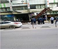 مصرع شخص وإصابة آخر بسبب «نوة قاسم» في الإسكندرية