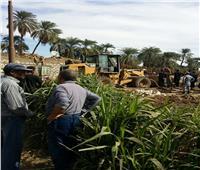 تنفيذ 789 قرار إزالة لتعديات على الأراضى الزراعية بالأقصر
