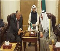 وزير الخارجية يلتقي رئيس مجلس الأمة الكويتي