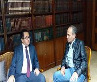 تعاون ثقافي بين هيئة الكتاب وكازاخستان في المعارض الدولية