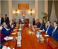 وزير الخارجية ونظيره الأردني يبحثان مسارات التعاون الثنائي