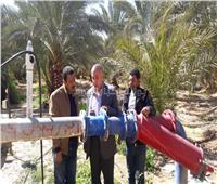 وزير الري يتلقى تقريرًا حول منظومة المياه الجوفية