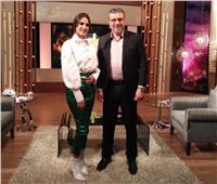 درة تتحدث عن أفلامها العالمية مع عمرو الليثي.. السبت