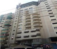 ميل في برج «فندق شهير» في طنطا يثير الذعر بين المواطنين