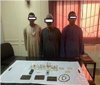 «أمن أسيوط»: ضبط 6 متهمين بالإتجار في المخدرات