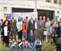 جامعة عين شمس تحتفل باليوم العالمي لمتحدي الإعاقة