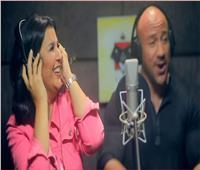 فيديو| منى الشاذلي تغني «راب» مع أحمد مكي