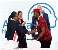 سحر نصر تشهد توقيع اتفاقية لـ«التمويل الدولية» بقيمة مليون دولار