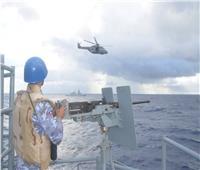 القوات البحرية تنفذ تدريبات مشتركة بالبحر المتوسط مع البحرية البريطانية والإيطالية