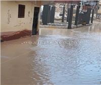صور| مياه الأمطار تغرق شوارع حي العامرية في الإسكندرية