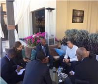 وزير النقل يبحث مع نظيره الموزمبيقي سُبل التعاون المشترك