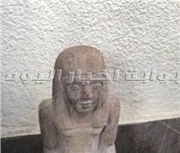 إحباط محاولة تهريب تمثال فرعوني داخل سيارة بأسيوط