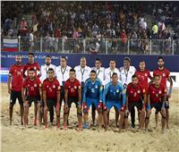 منتخب الشاطئية يفوز على المغرب بسداسية
