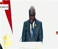 فيديو| مفوضية الاتحاد الإفريقي: اعتمدنا منطقة التجارة الحرة لتطوير الاقتصادات المحلية