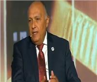وزير الخارجية: الاستقرار الداخلي للدول أمر ضروري لزيادة الاستثمارات