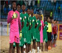 نيجيريا تفوز على ليبيا بسداسية في أمم إفريقيا للكرة الشاطئية