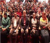 صور| محافظ المنوفية يشهد مبادرة «معا ضد العنف» بشبين الكوم