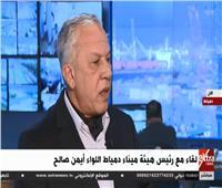 فيديو| أيمن صالح: خطة لتطوير ميناء دمياط تشمل تحسين الخدمات للسفن