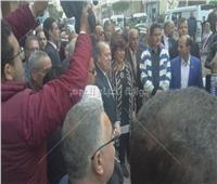 «عبد الدايم» و«محافظ كفر الشيخ» يصلان لمقر قصر ثقافة دسوق