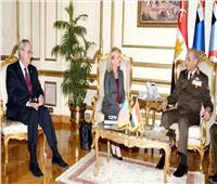 الفريق أول محمد زكى يلتقي وزير الأمن الداخلي الأمريكي