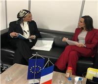 وزيرة البيئة تلتقي نظيرتها الفرنسية لبحث التغير المناخي