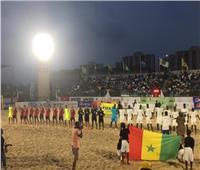 السنغال تتصدر وتصعد بعد الفوز على ليبيا في أمم إفريقيا للشاطئية