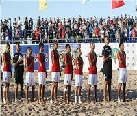 المغرب تخطف المركز الثاني في مجموعة «مصر» بأمم إفريقيا للكرة الشاطئية