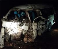 مصرع ٦ أشخاص وإصابه 18 آخرين في تصادم بمحافظة الشرقية