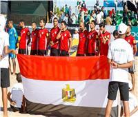 منتخب مصر يلتقي نظيره النيجيري في نصف نهائي كأس إفريقيا للكرة الشاطئية