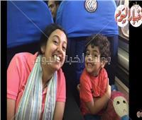 فيديو وصور| والدة «آسر» تروي لحظات مرعبة لخطفه وتهريبه إلى تركيا