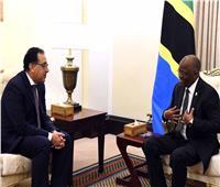 رئيس الوزراء يستعرض مع رئيس تنزانيا سبل تعزيز العلاقات الثنائية
