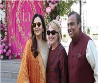 صور وفيديو| هيلاري كلينتون تنضم لنجوم بوليوود في حفل زفاف ابنة أغنى أغنياء الهند