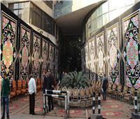 فيديو وصور| شارع الصحافة يستعد لاستقبال جثمان الراحل إبراهيم سعدة