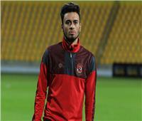 صلاح محسن يبدأ الجري حول الملعب