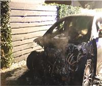 شاهد.. أول حادث احتراق لسيارة «جاكوار» كهربائية