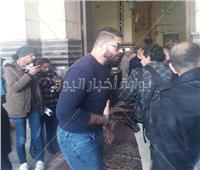 خالد سليم يصل «عمر مكرم» لأداء صلاة الجنازة على الراحل إبراهيم سعدة