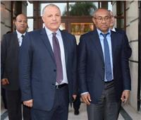 أبو ريدة يناقش مع رئيس «كاف» إمكانية تنظيم مصر للأمم الإفريقية