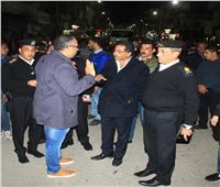 مدير أمن الإسماعيلية يقود حملة لإزالة الإشغالات