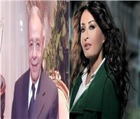 لطيفة تنعي الكاتب الصحفي إبراهيم سعدة بكلمات مؤثرة