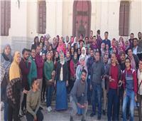 ندوات ورحلات لطلاب جامعة أسيوط لتنمية الوعي السياحي