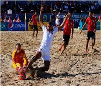 مصر ثالث إفريقيا للكرة الشاطئية بعد الفوز على المغرب