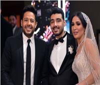 بالصور.. حماقي يحول زفاف «محمد وحنين» لحفل جماهيري