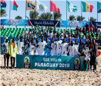 السنغال يتوج بطلاً لإفريقيا لكرة القدم الشاطئية