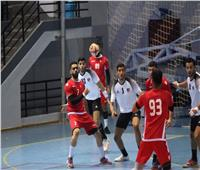 منتخب مصر لليد يتقدم في الشوط الأول بودية البحرين