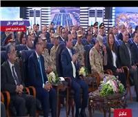 فيديو| الرئيس السيسي يشكر المساهمين في المشاريع القومية والخدمية