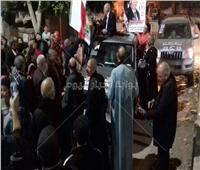 مسيرة لحزب مستقبل وطن بالغربية لدعم أحمد فودةنصير