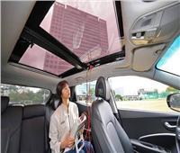 صور| «هيونداي» تكشف عن تقنية شحن السيارات بالطاقة الشمسية
